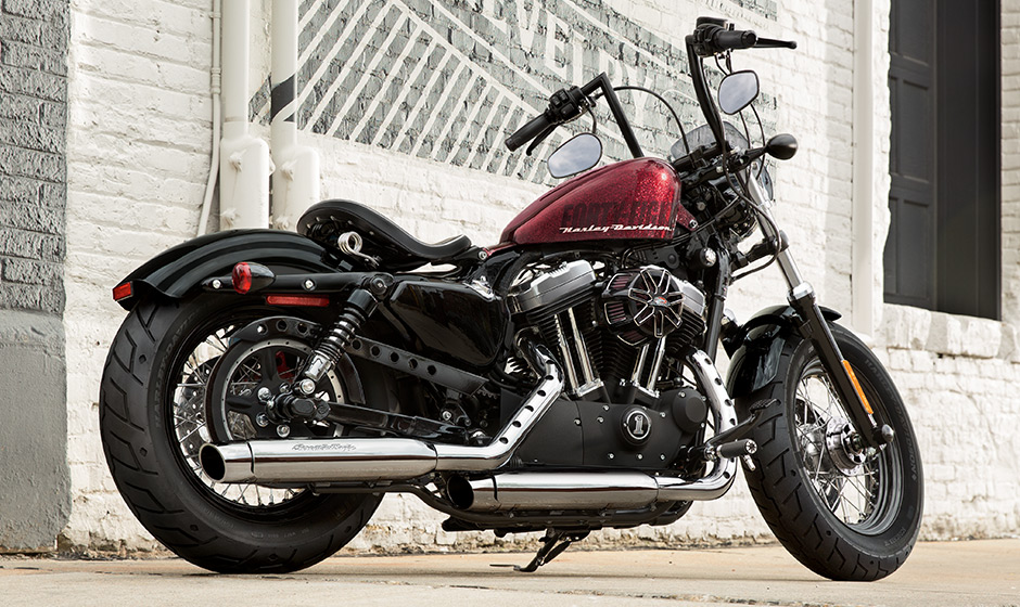 2015 harley davidson sportster forty eight is ready to turn heads autoevolution. Black Bedroom Furniture Sets. Home Design Ideas