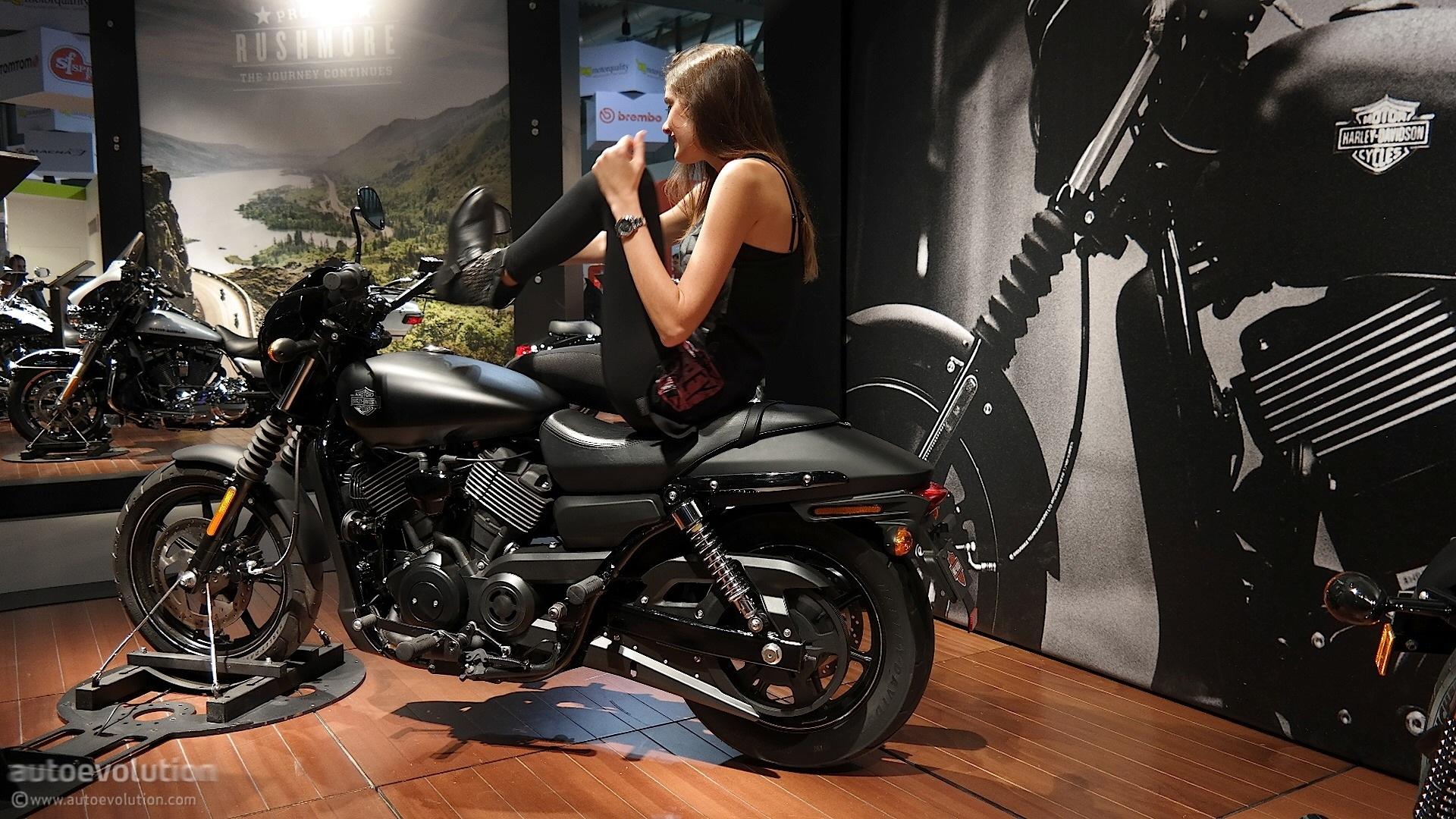 2015 Harley Davidson Street 750 Is A Bit Rough Around The