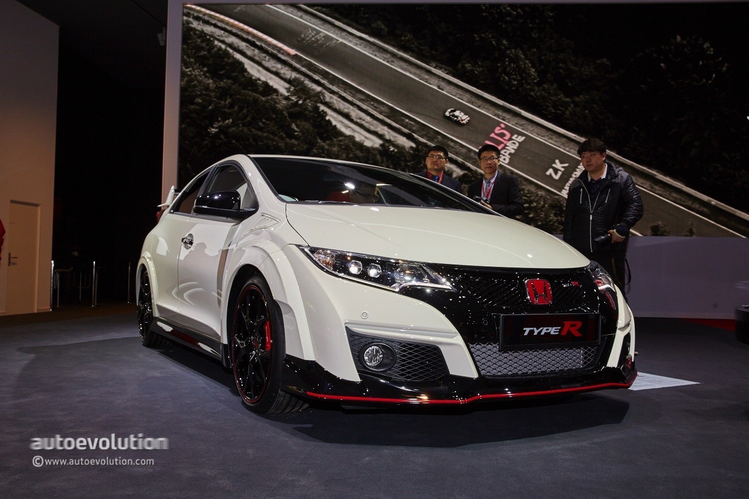 2015 honda civic type r bows in geneva laps the nurburgring in 7 video live photos. Black Bedroom Furniture Sets. Home Design Ideas
