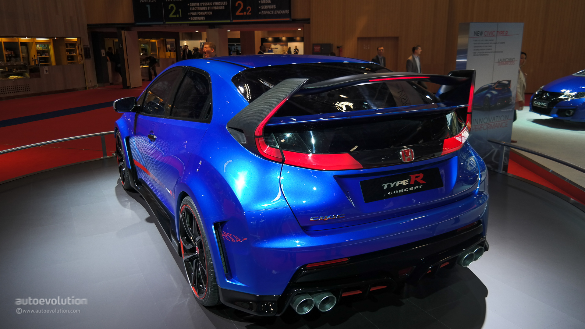 2015 Honda Civic Type R will Debut on March 2 - autoevolution
