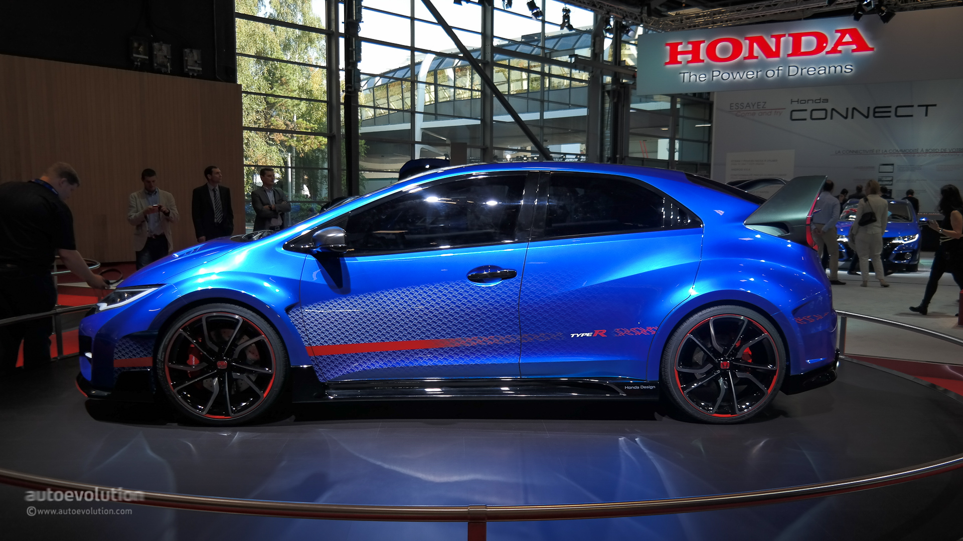 2015 honda civic type r will debut on march 2 autoevolution. Black Bedroom Furniture Sets. Home Design Ideas