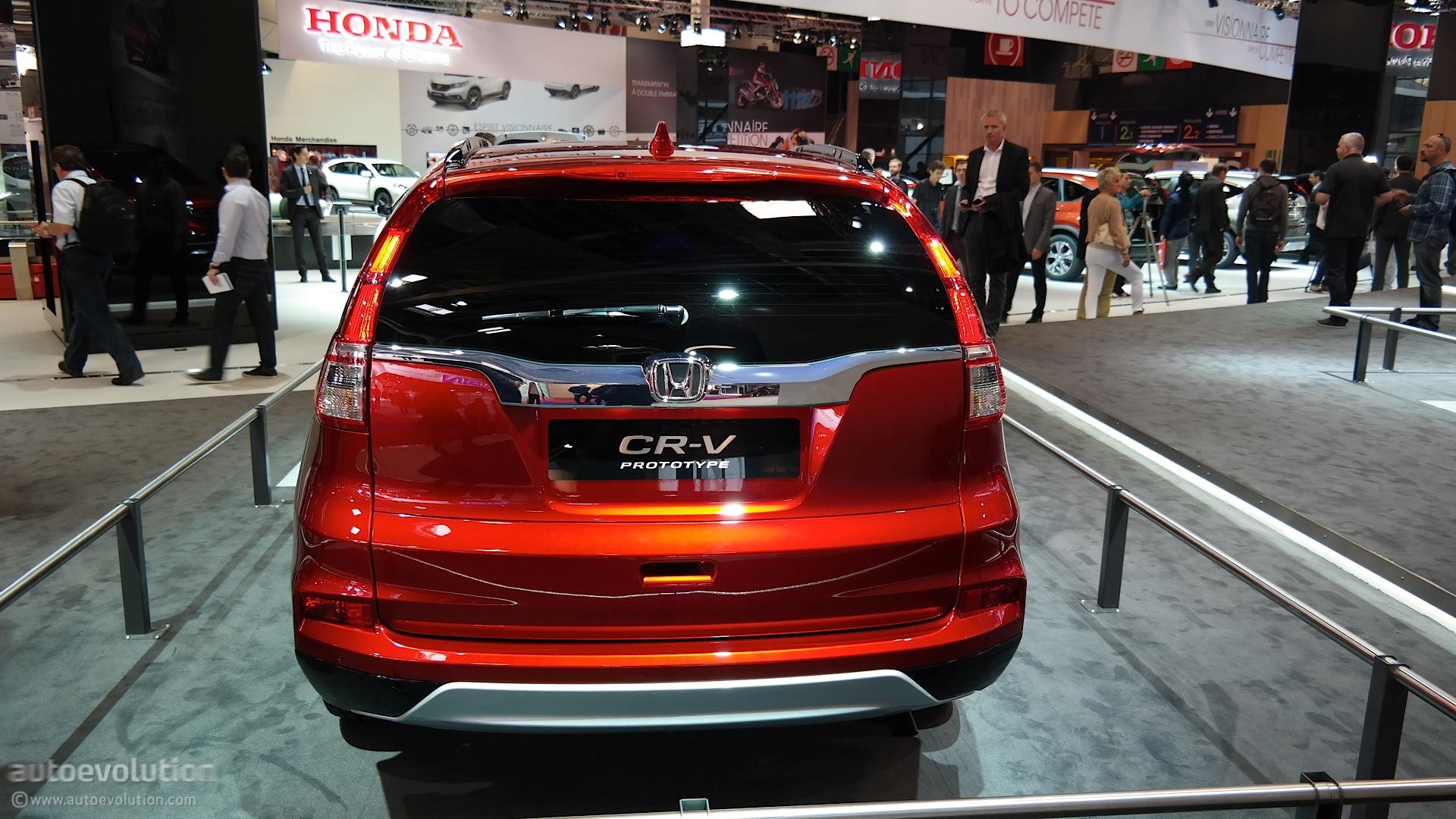 2015 Honda CR-V Brings Its 9-Speed Auto Gearbox to Paris ...
