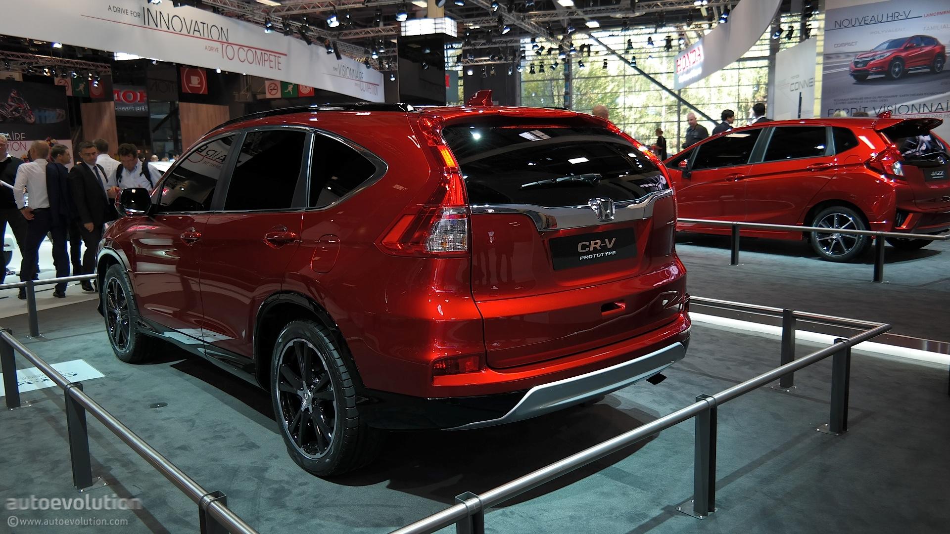 Honda Cr V Facelift