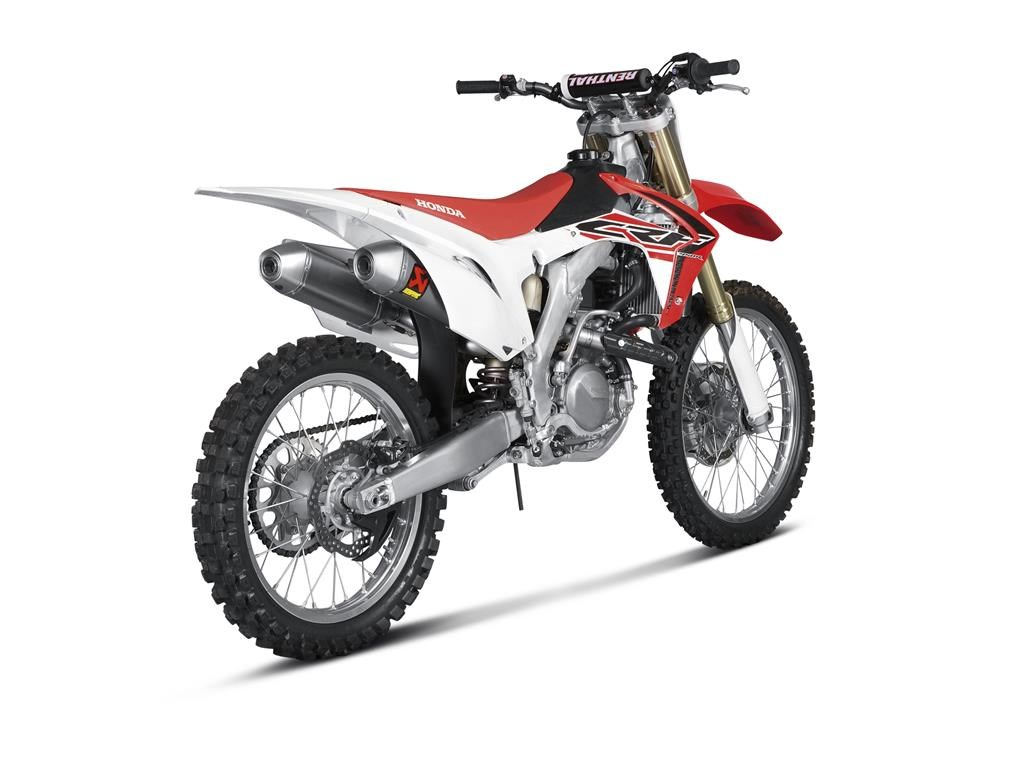 2015 Honda Crf450r Upgraded With Akrapovic Exhausts