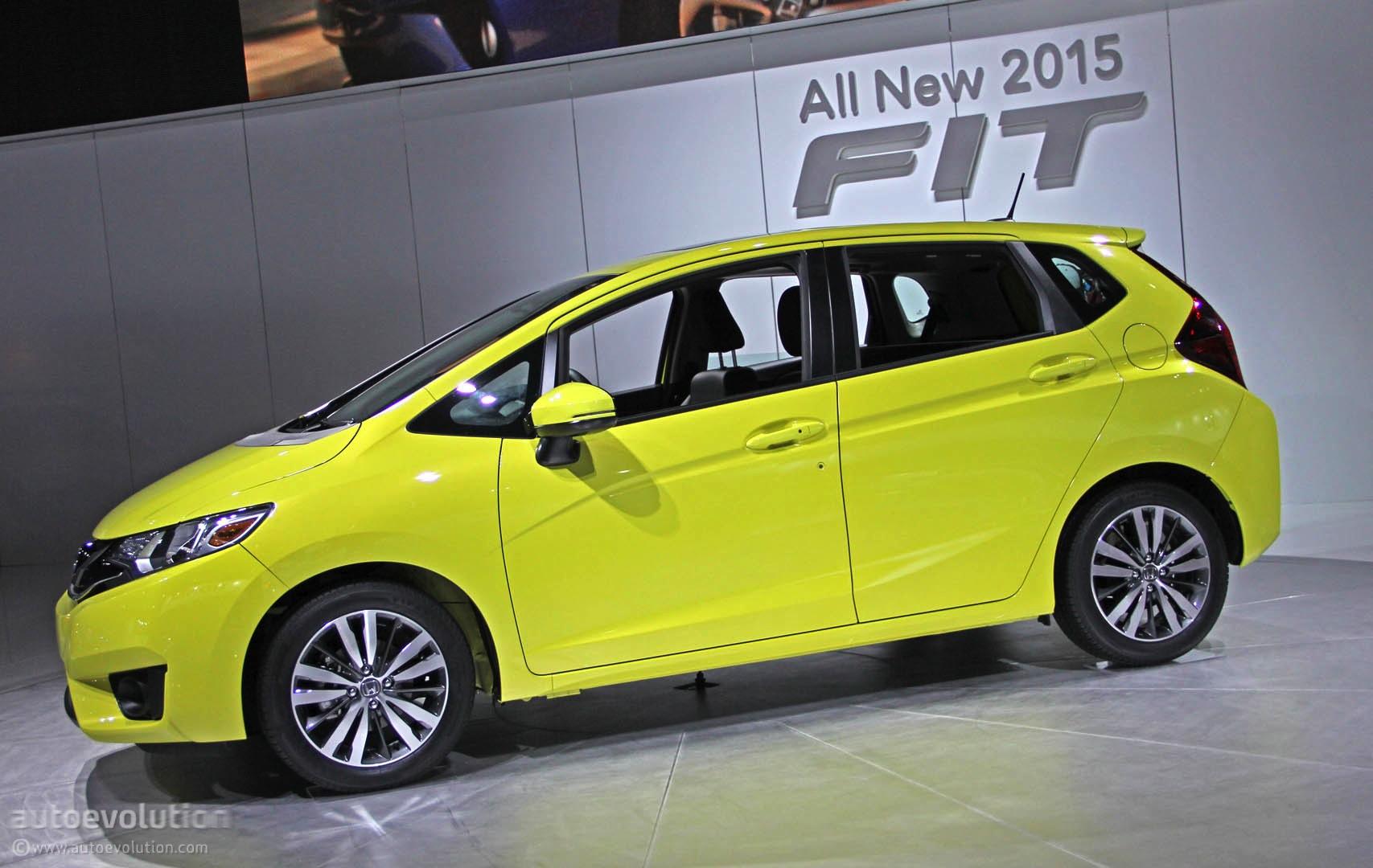 Honda Fit Mpg >> 2015 Honda Fit Debuts In Detroit Gets 41 Mpg Live Photos