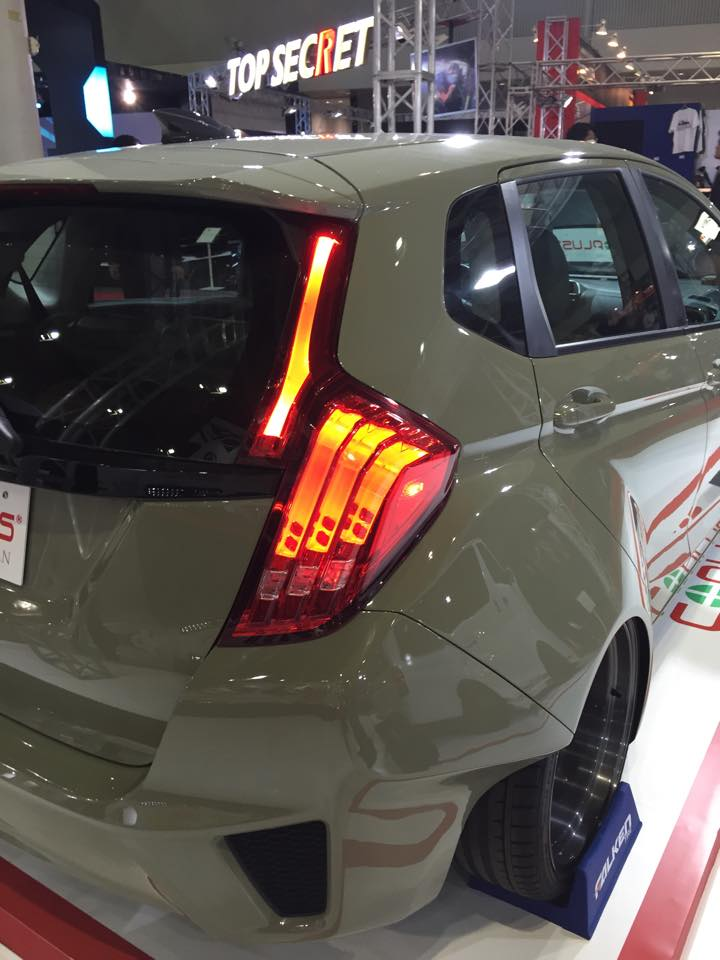 2015 Honda Fit Gets Widebody Kit And Custom Led Lights