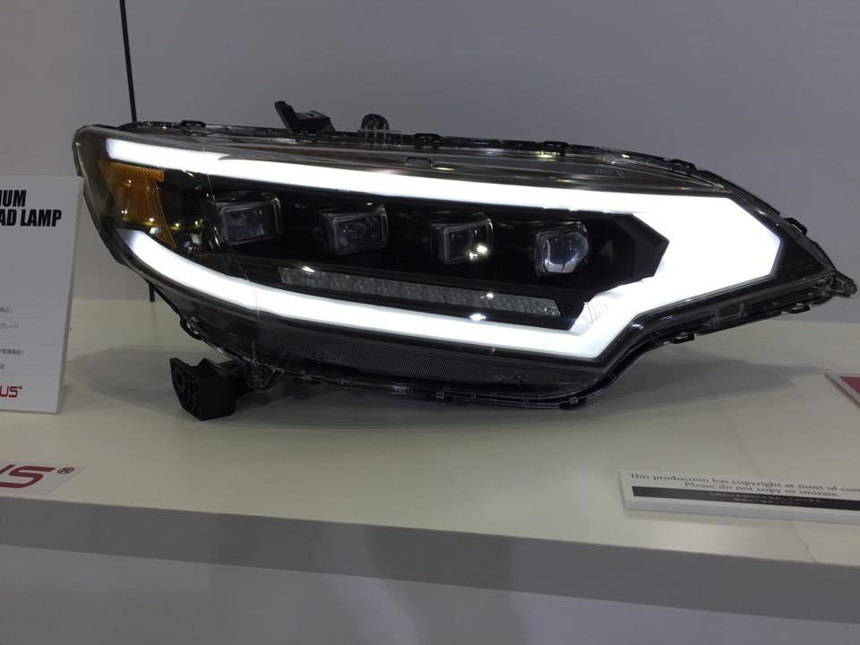 Honda Accord 2015 Led Headlights >> 2015 Honda Fit Gets Widebody Kit and Custom LED Lights - autoevolution