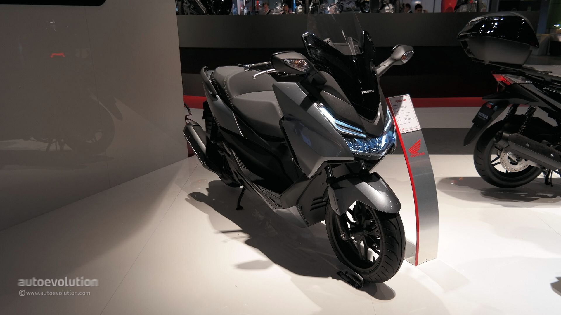 Honda Forza Shows Fresh Led Lights At Eicma Live Photos on Toyota 30 Built Engine