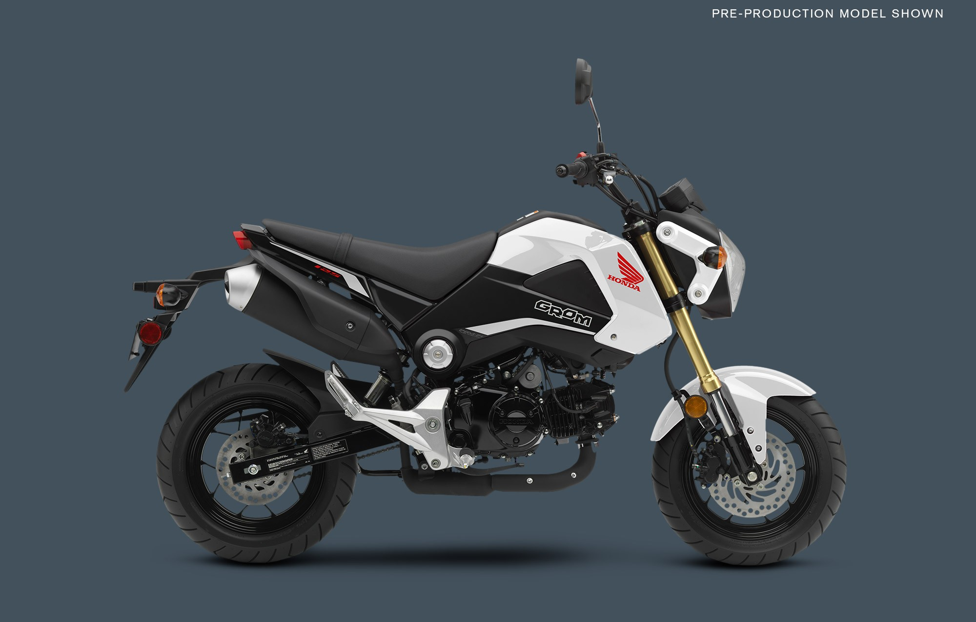 2015 Honda Grom Shows Up in Four Sweet Colors - autoevolution