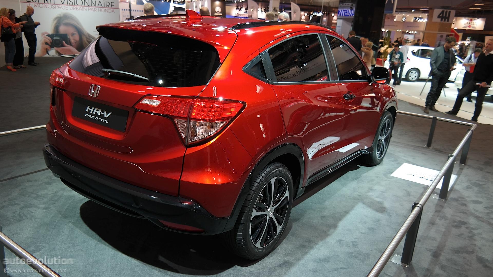 2016 Honda Hr V 1 5 And 1 8 Cvt