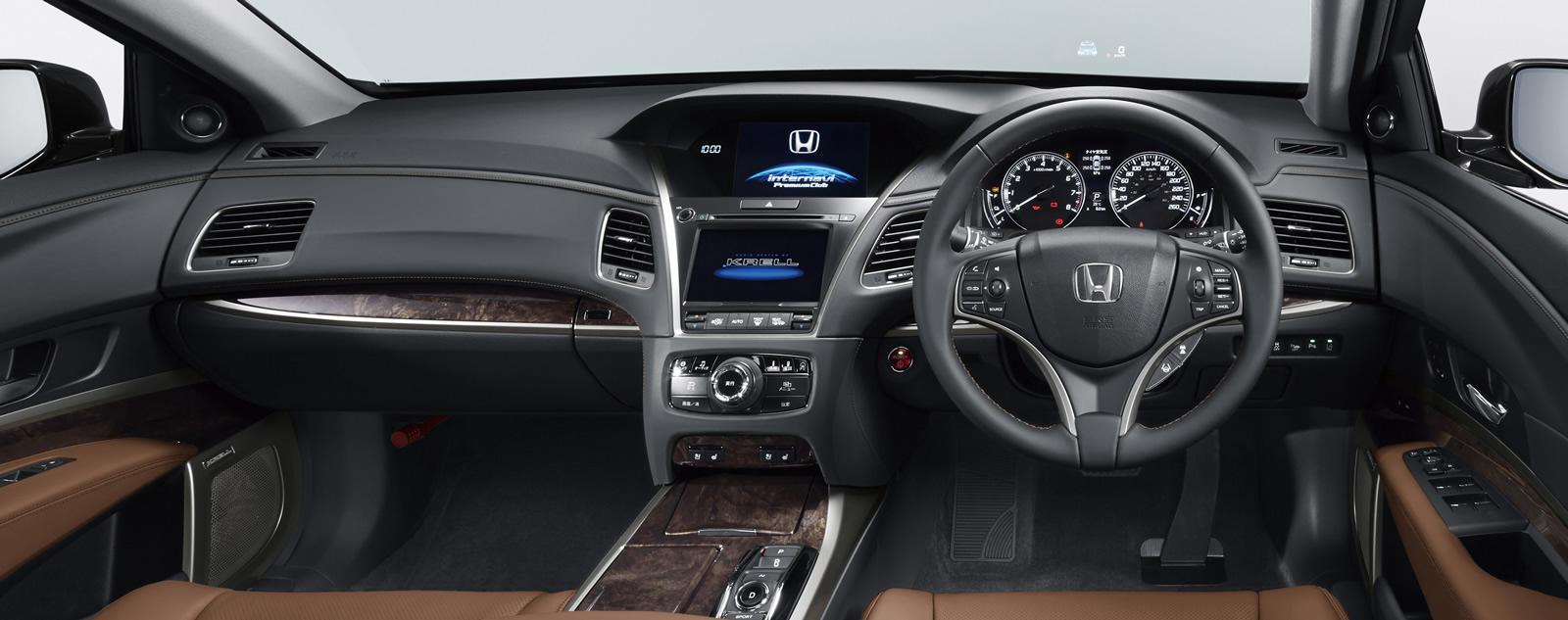 2015 Honda Legend Flagship Sedan Revealed in Japan: It's the Acura RLX ...