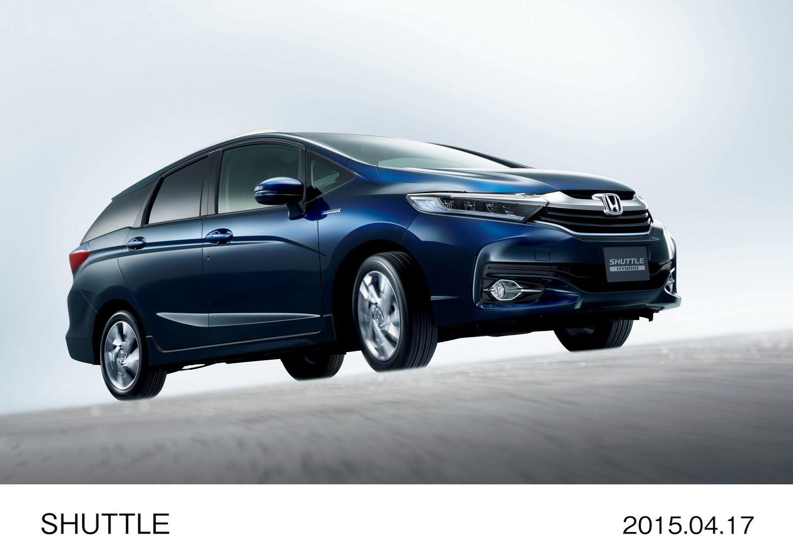 Honda Shuttle Revealed In Japan The Fit S Wagon Brother Photo Gallery on 2008 Honda Cr V
