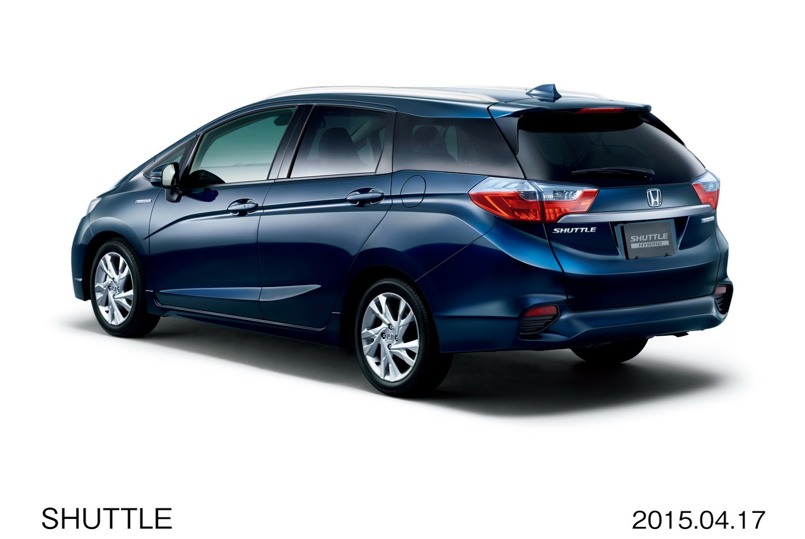 2015 Honda Shuttle Revealed in Japan: The Fit's Wagon Brother ...