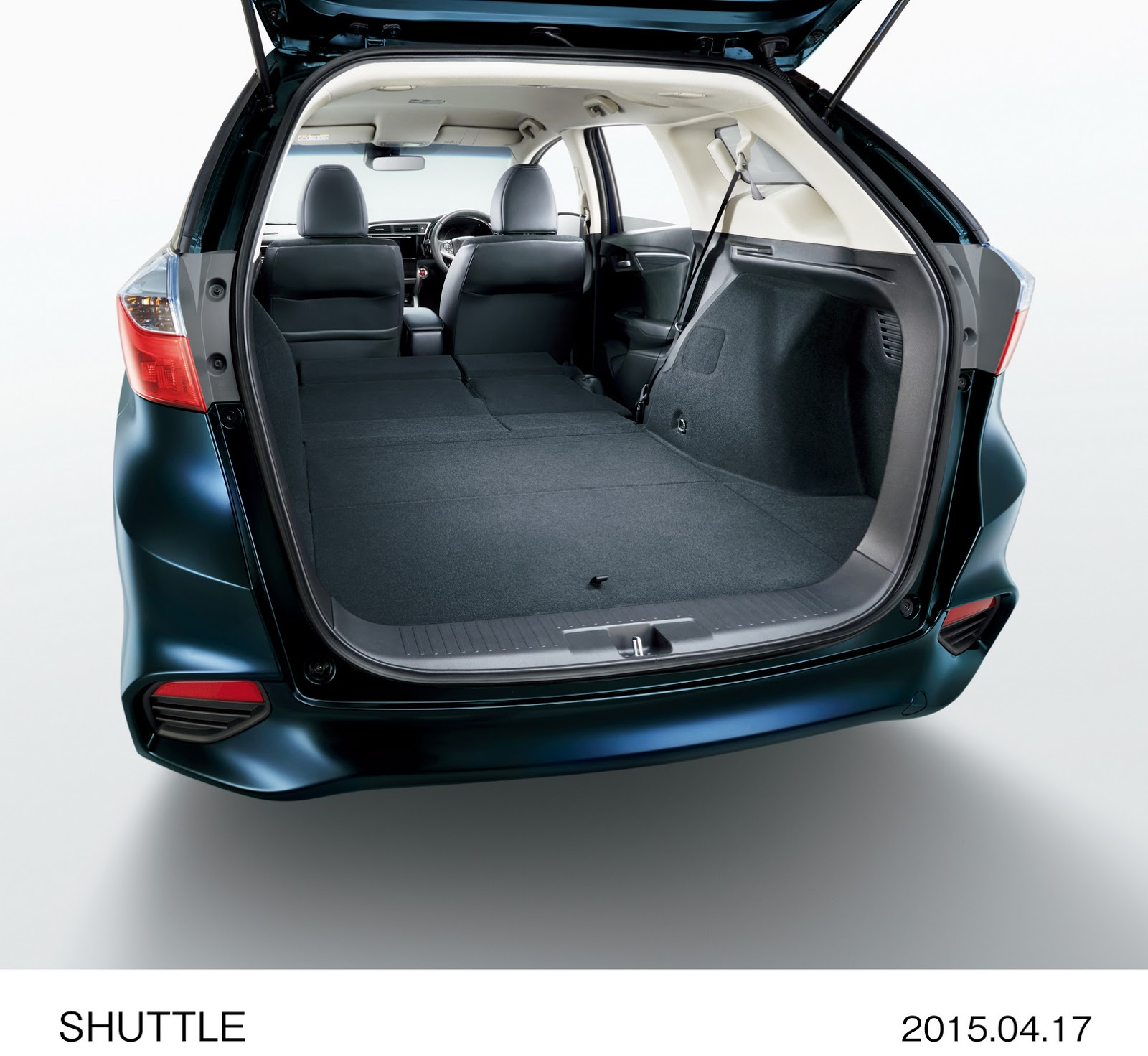 2015 Honda Shuttle Revealed In Japan: The Fit's Wagon