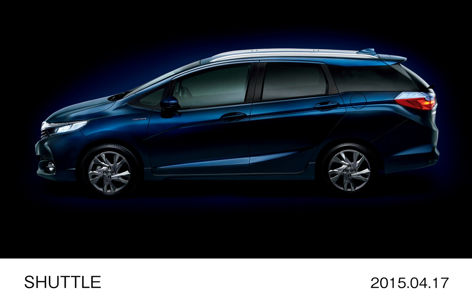2015 Honda Shuttle Revealed in Japan: The Fit's Wagon ...