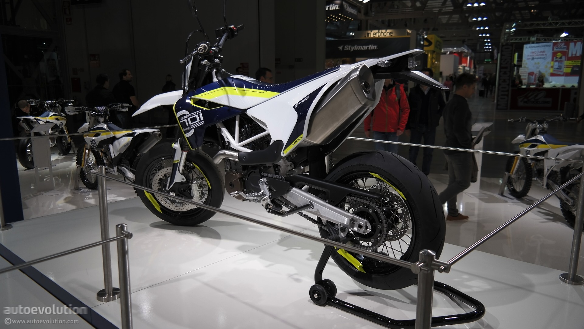 2015 Husqvarna 701 Supermoto Celebrates Brand S Return To