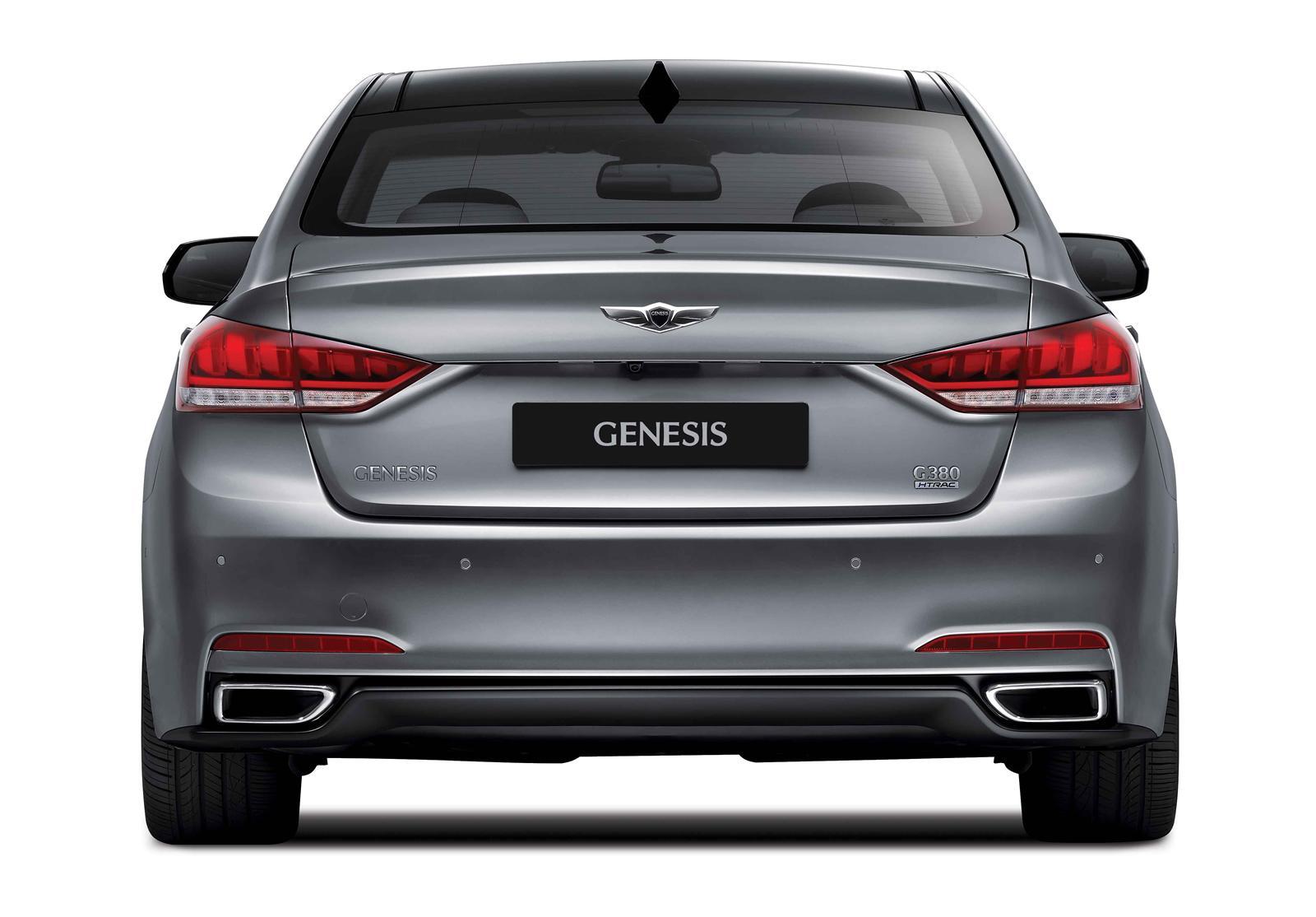 2015 Hyundai Genesis Breaks Cover