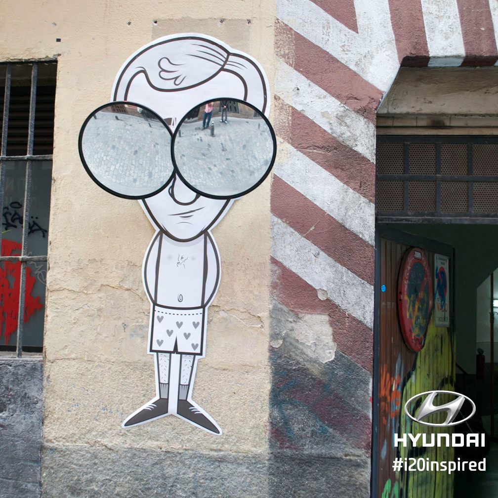 Audi Used For Sale >> 2015 Hyundai i20 Commercial Showcases the Graffiti Art of JPS - autoevolution