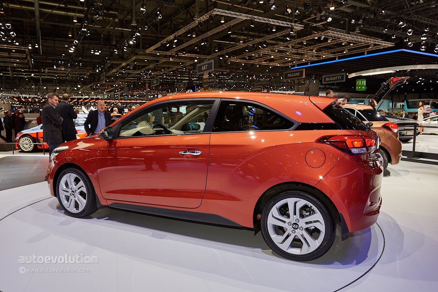 2015 Hyundai i20 Coupe Is the Coolest Supermini in Geneva ...