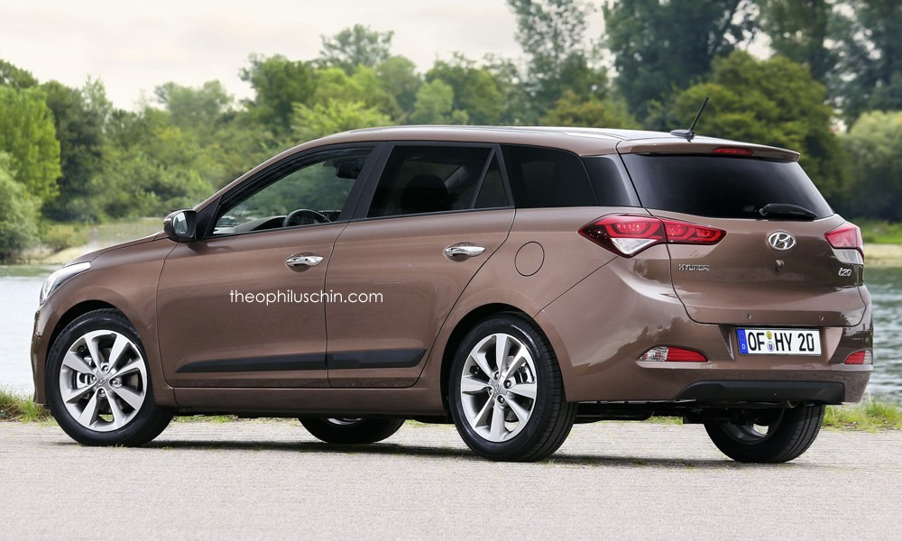 2015 hyundai i20 wagon rendered autoevolution. Black Bedroom Furniture Sets. Home Design Ideas