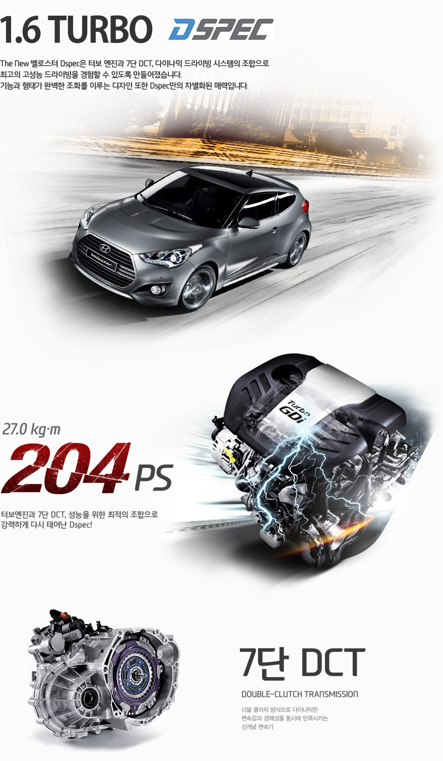 Where Is Hyundai Made >> 2015 Hyundai Veloster Turbo Unveiled with 204 HP and 7-Speed DCT - autoevolution