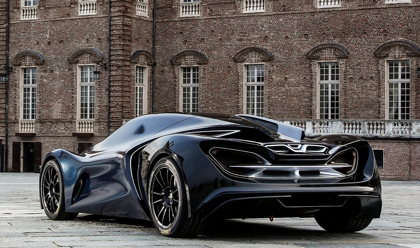 The Ied Syrma Concept Car Is A Futuristic Mclaren