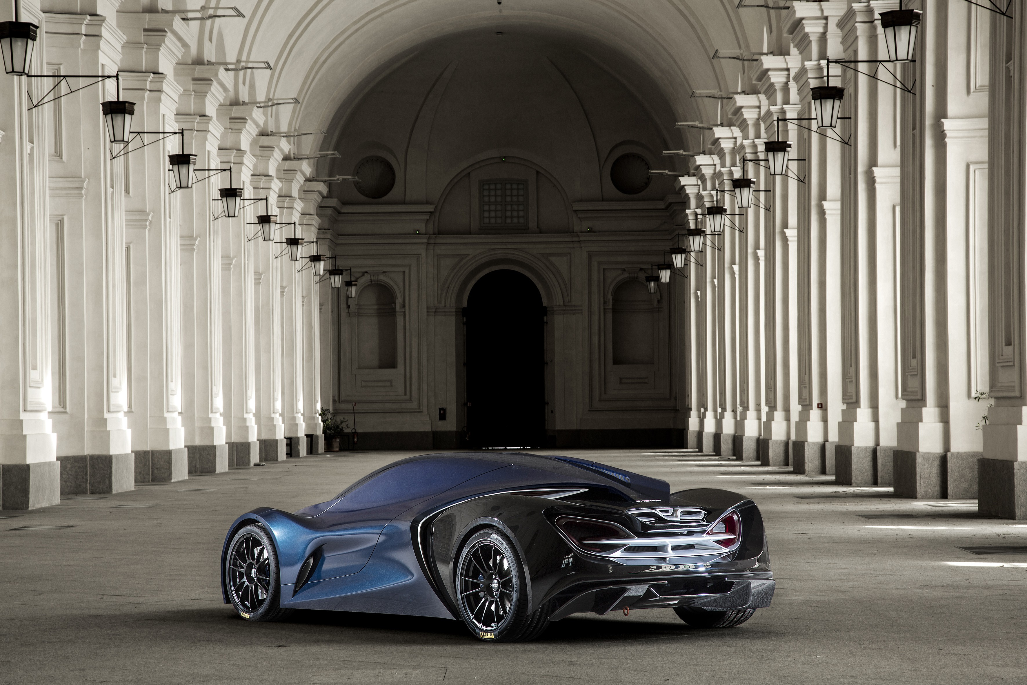 The IED Syrma Concept Car Is a Futuristic McLaren ...