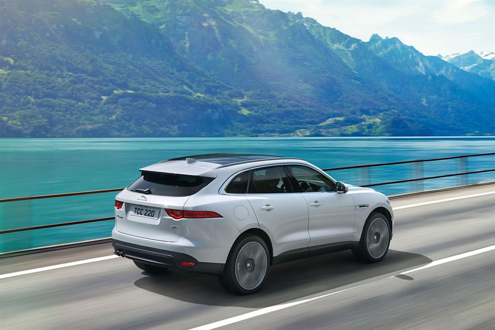 2015 Jaguar F-Pace SUV Revealed in Full, Hours Ahead of ...