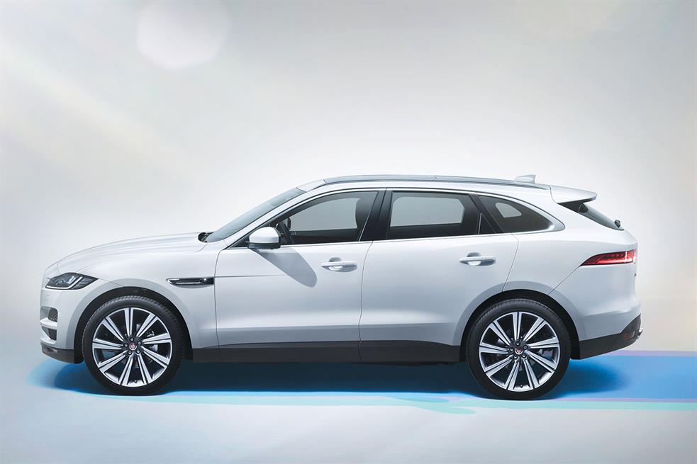 2015 Jaguar F-Pace SUV Revealed in Full, Hours Ahead of Frankfurt - autoevolution