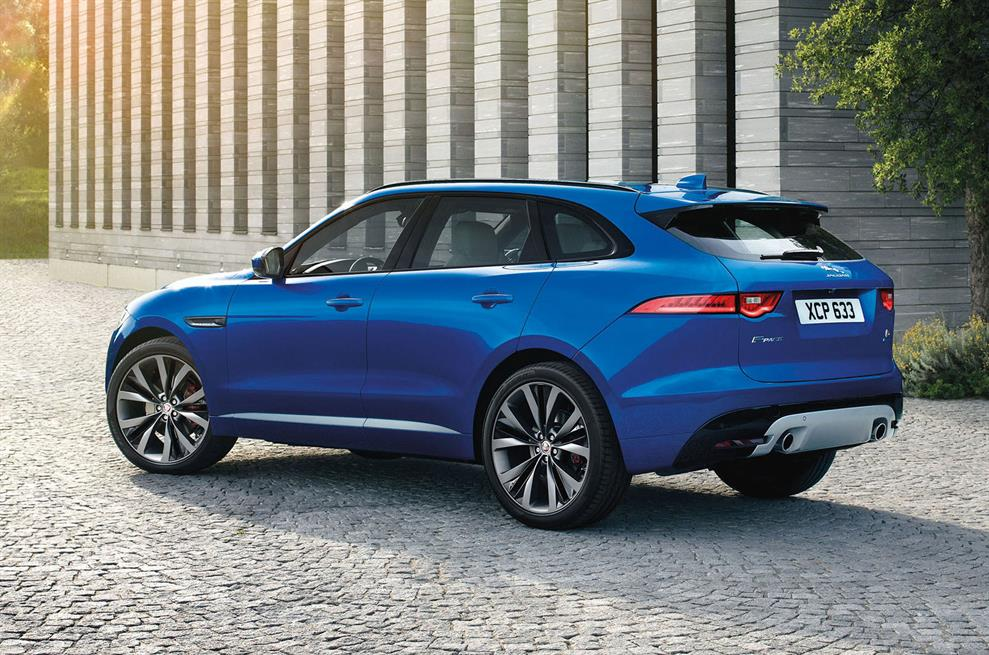 2015 jaguar f pace suv revealed in full hours ahead of frankfurt autoevolution. Black Bedroom Furniture Sets. Home Design Ideas