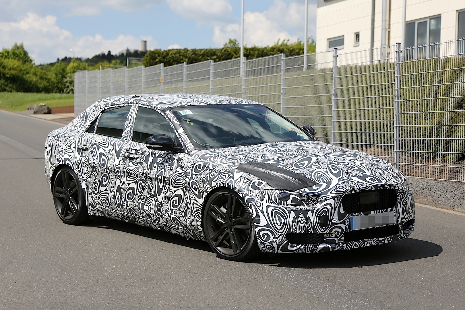 2015 Jaguar XE S Testing with Supercharged V6 Engine - autoevolution