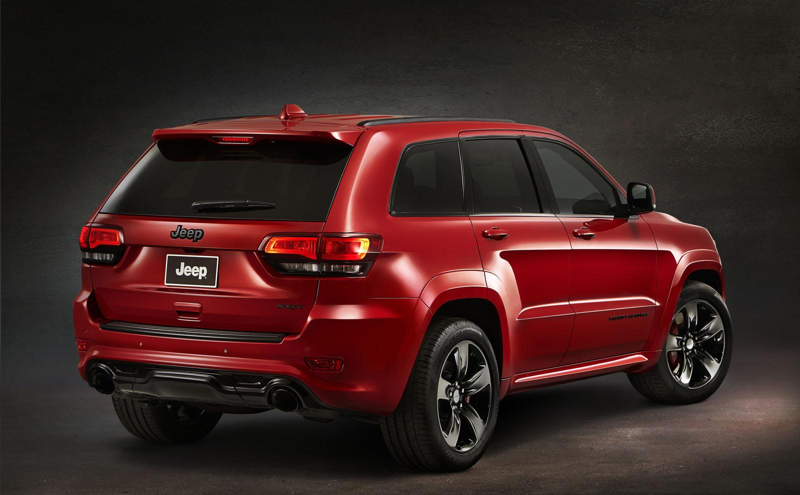 jeep cherokee srt grand vapor order edition special package