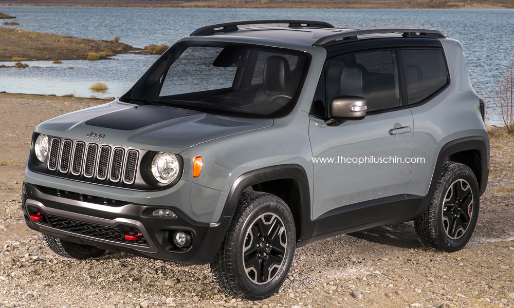 2015 Jeep Renegade 3 Door Rendering Autoevolution