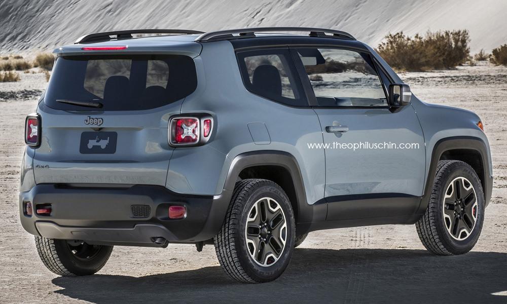 2015 Jeep Renegade 3-Door Rendering - autoevolution