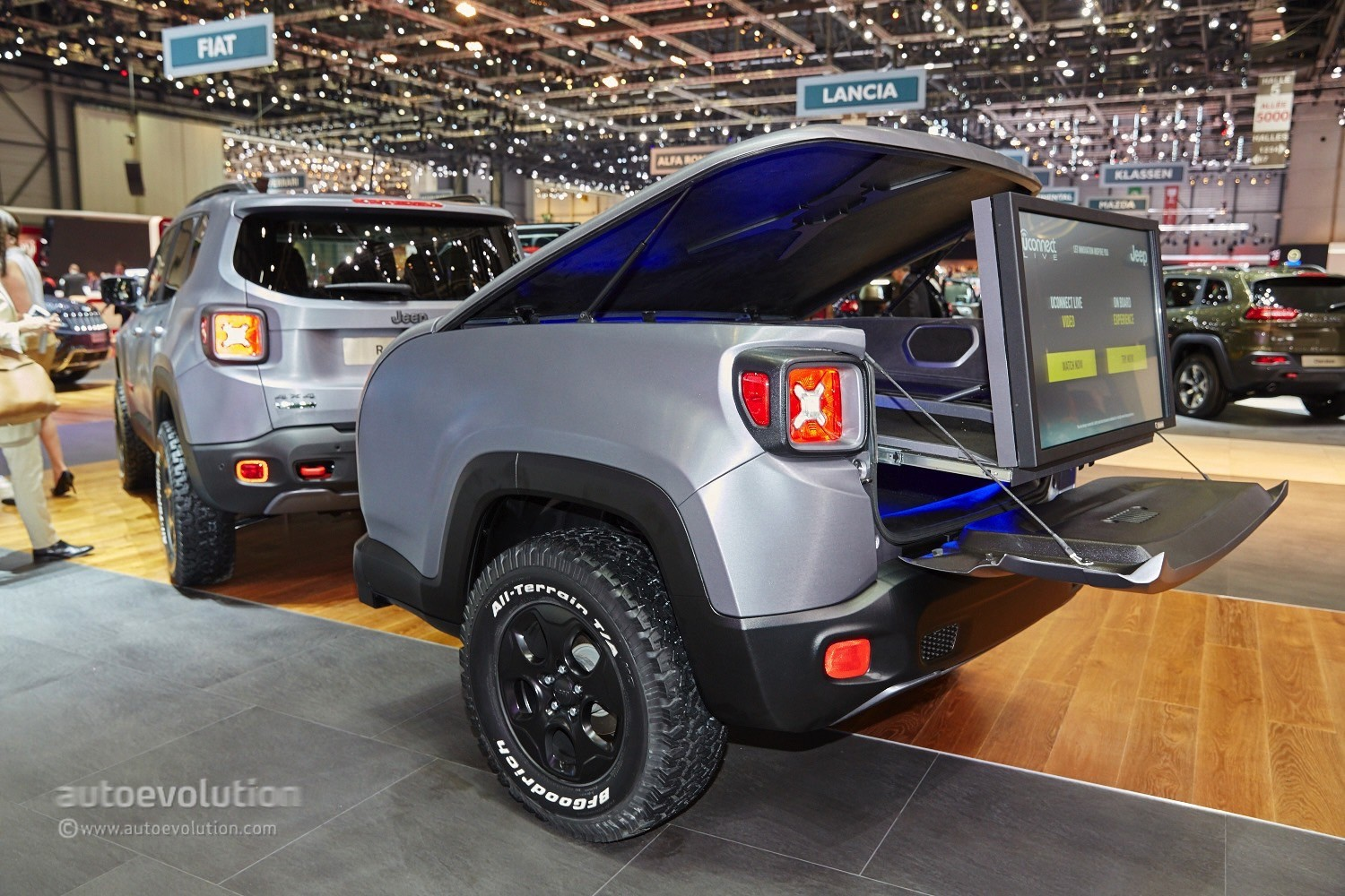 Decked Out Jeep Wrangler >> 2015 Jeep Renegade Gets the Hard Steel Treatment in Time ...