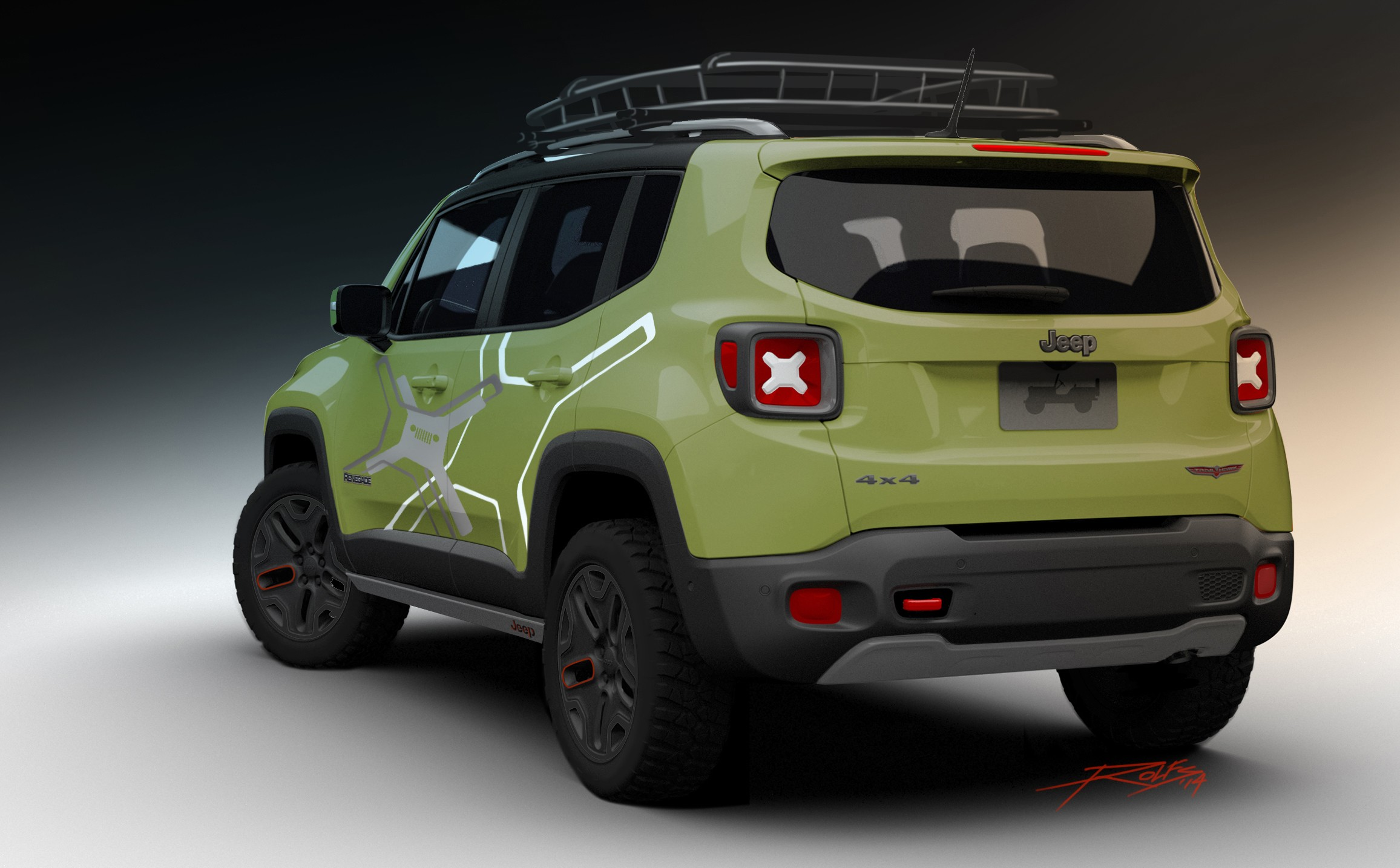 Jeep Renegade Trailhawk Tuning >> 2015 Jeep Renegade Receives Mopar Goodies for 2015 Detroit Auto Show - autoevolution