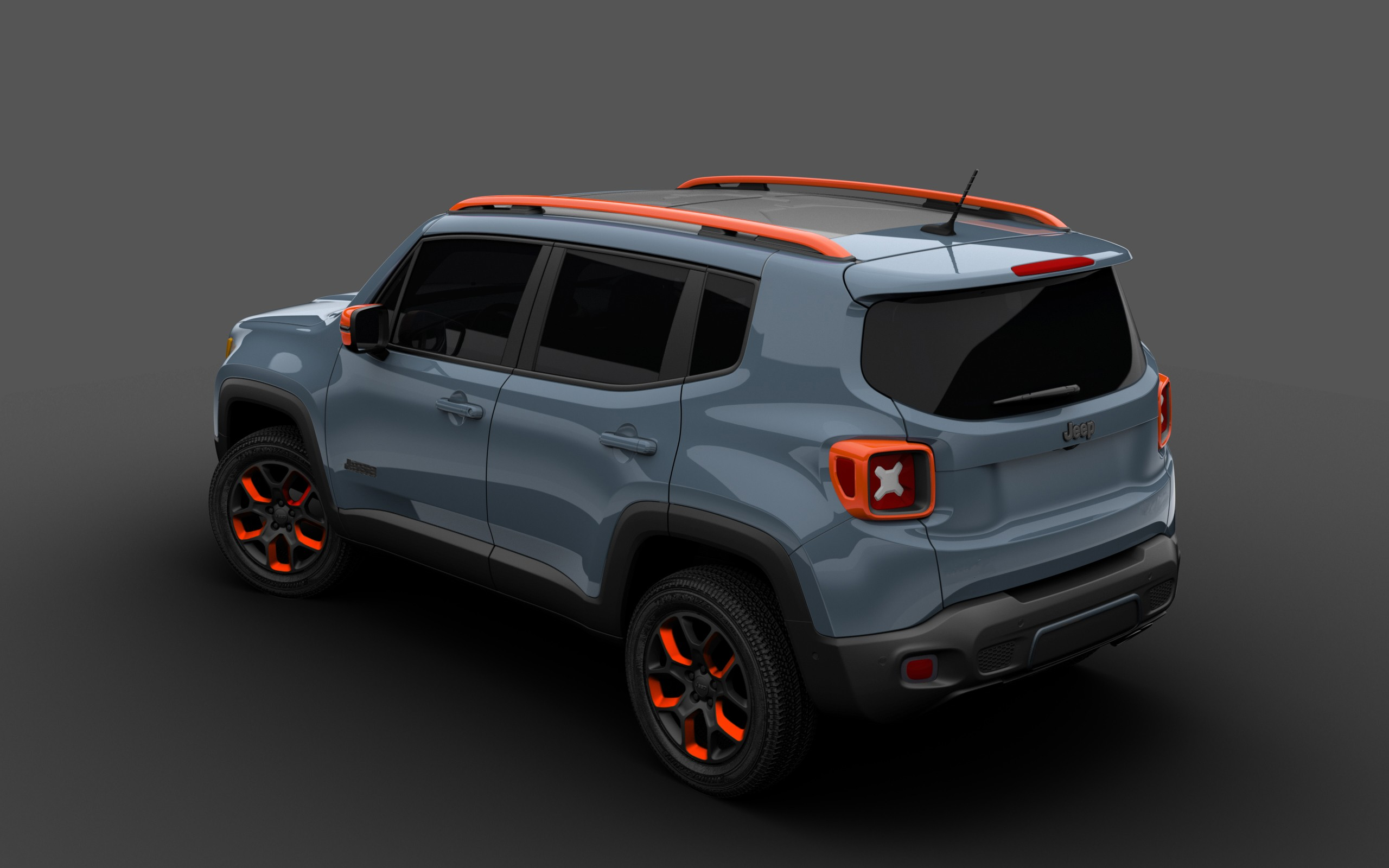 2015 jeep renegade receives mopar goodies for 2015 detroit auto show autoevolution. Black Bedroom Furniture Sets. Home Design Ideas