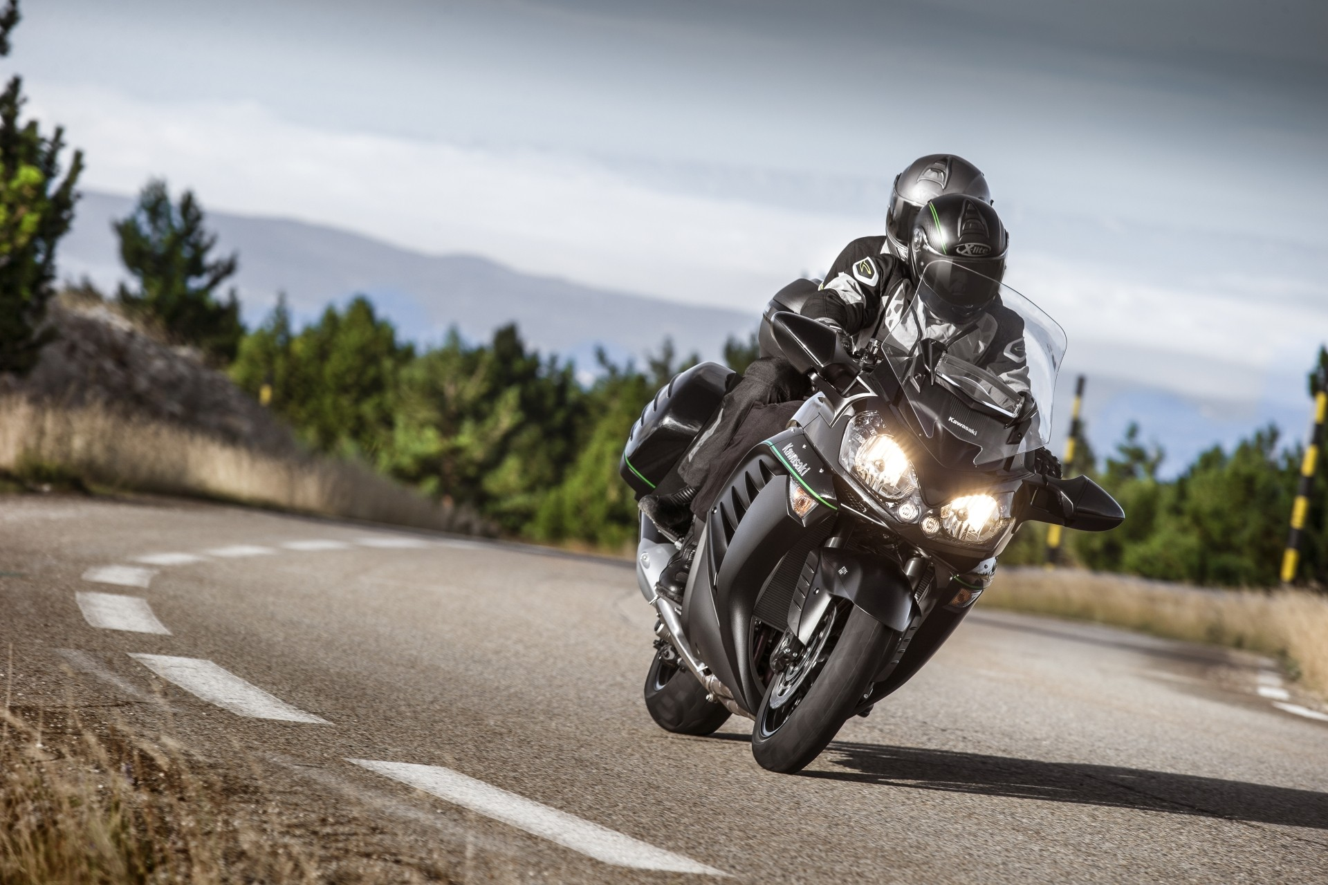 2015 Kawasaki 1400gtr Transcontinental Supersport Still
