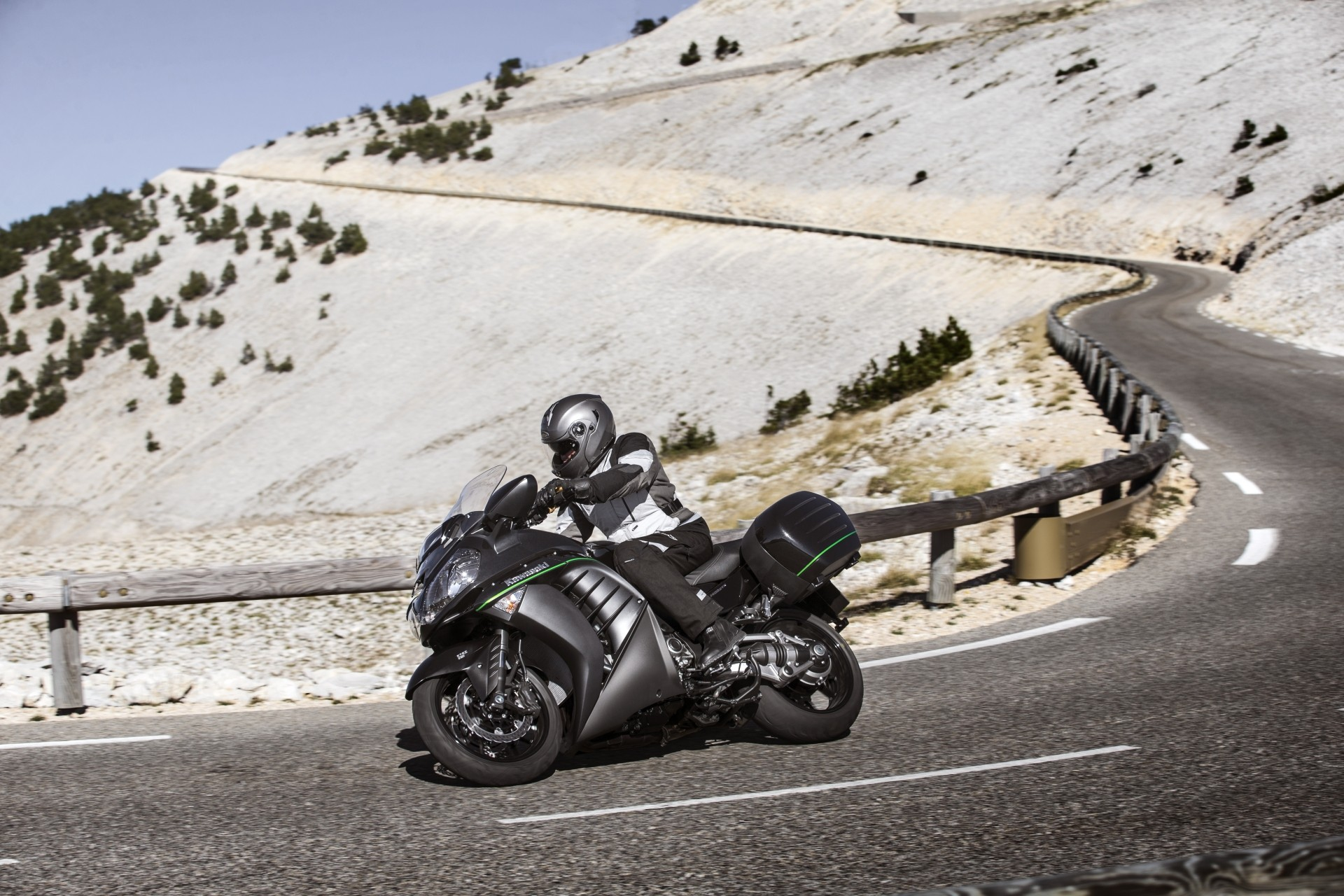 2015 Kawasaki 1400GTR Transcontinental Supersport Still Has