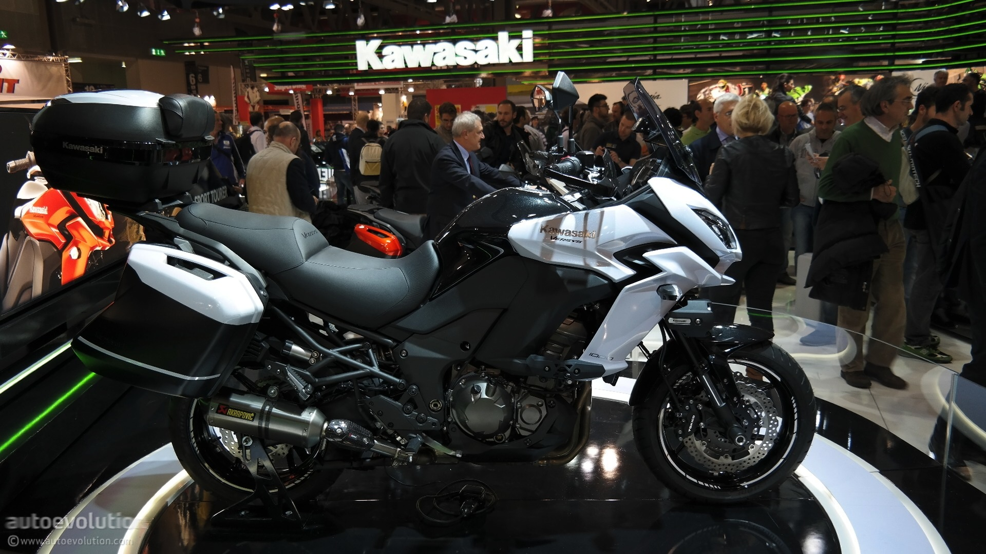Eicma 2015 Kawasaki Versys 1000 Might Not Be Exactly What