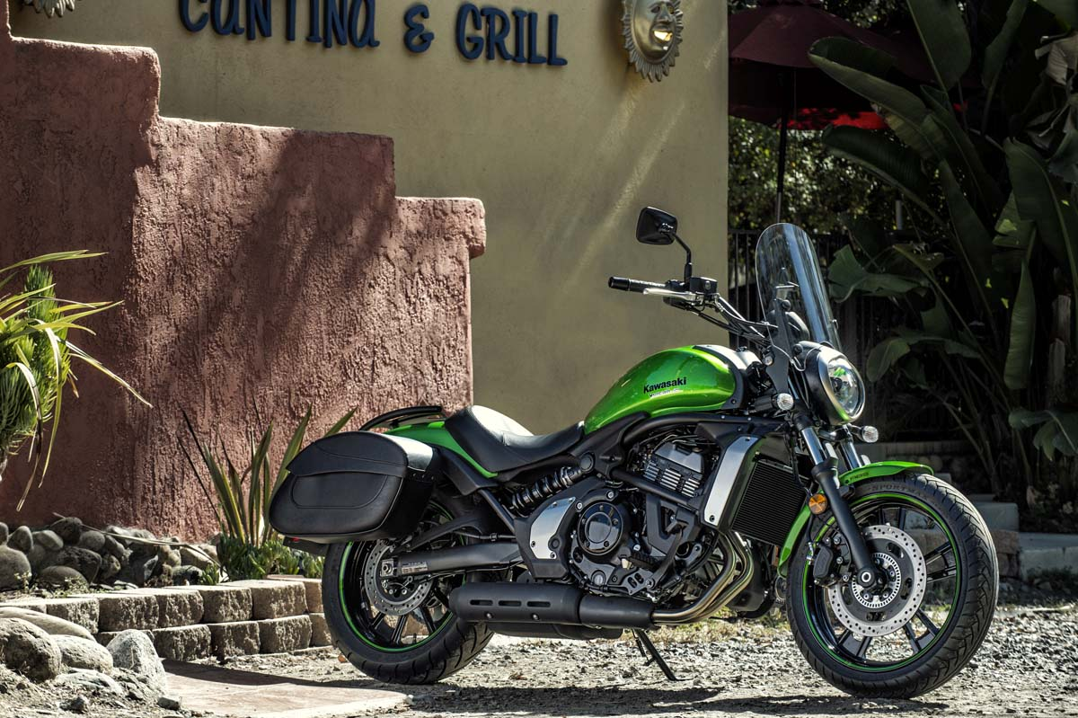 2015 Kawasaki Vulcan S With Touring Accessories