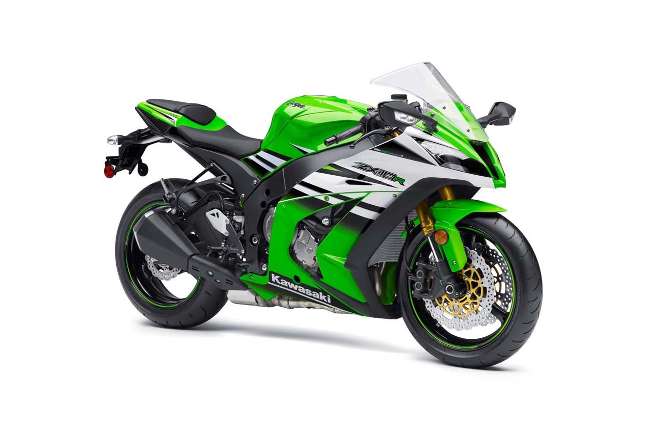 2015 kawasaki zx-10r ninja 30th anniversary shows no festive