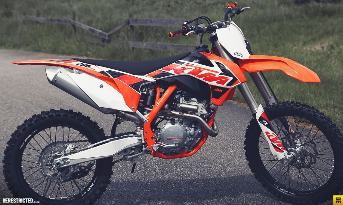 2015 ktm 250 sx-f preview pics - autoevolution