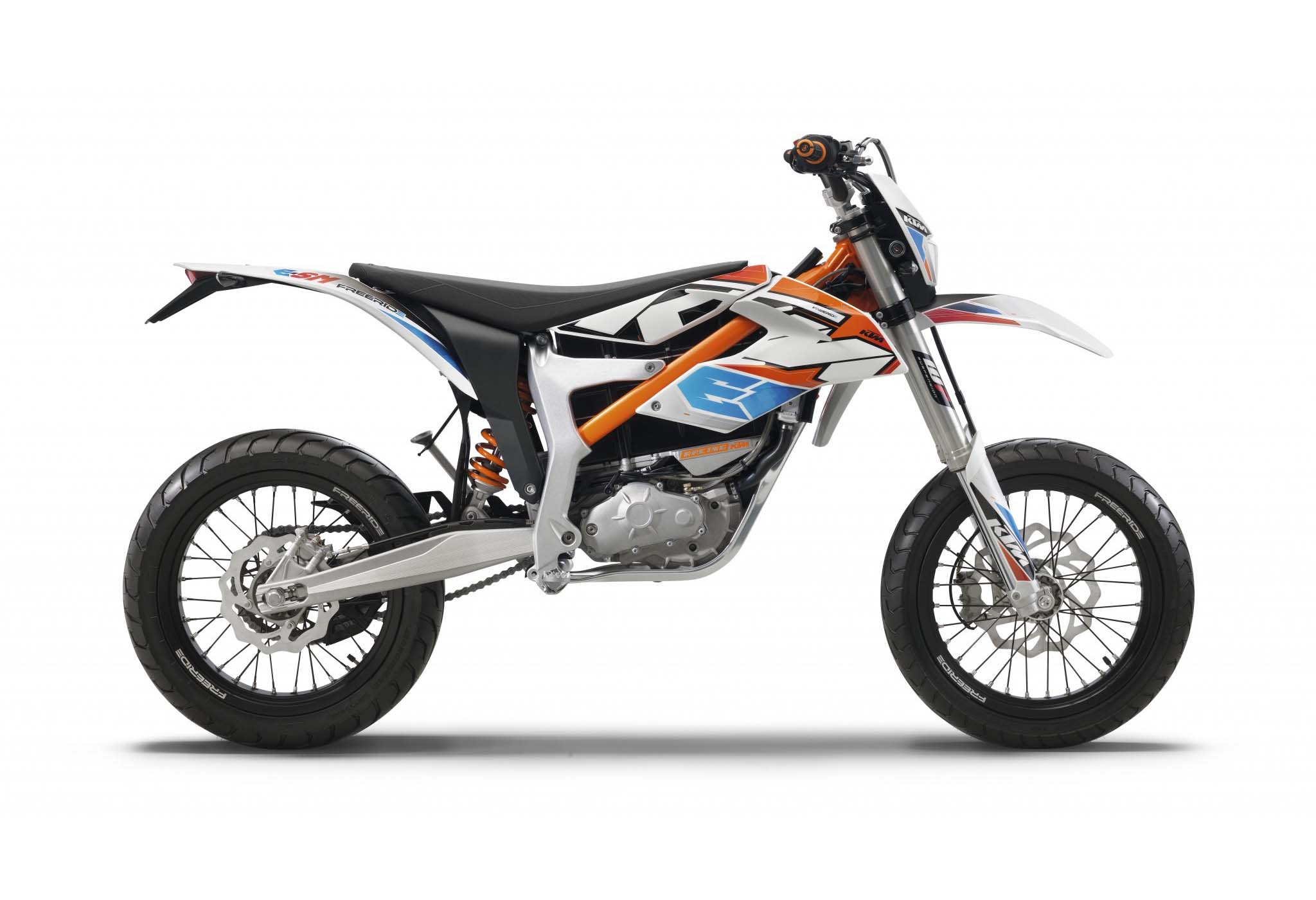 2015 ktm freeride e sm supermoto goes green but stays orange autoevolution. Black Bedroom Furniture Sets. Home Design Ideas