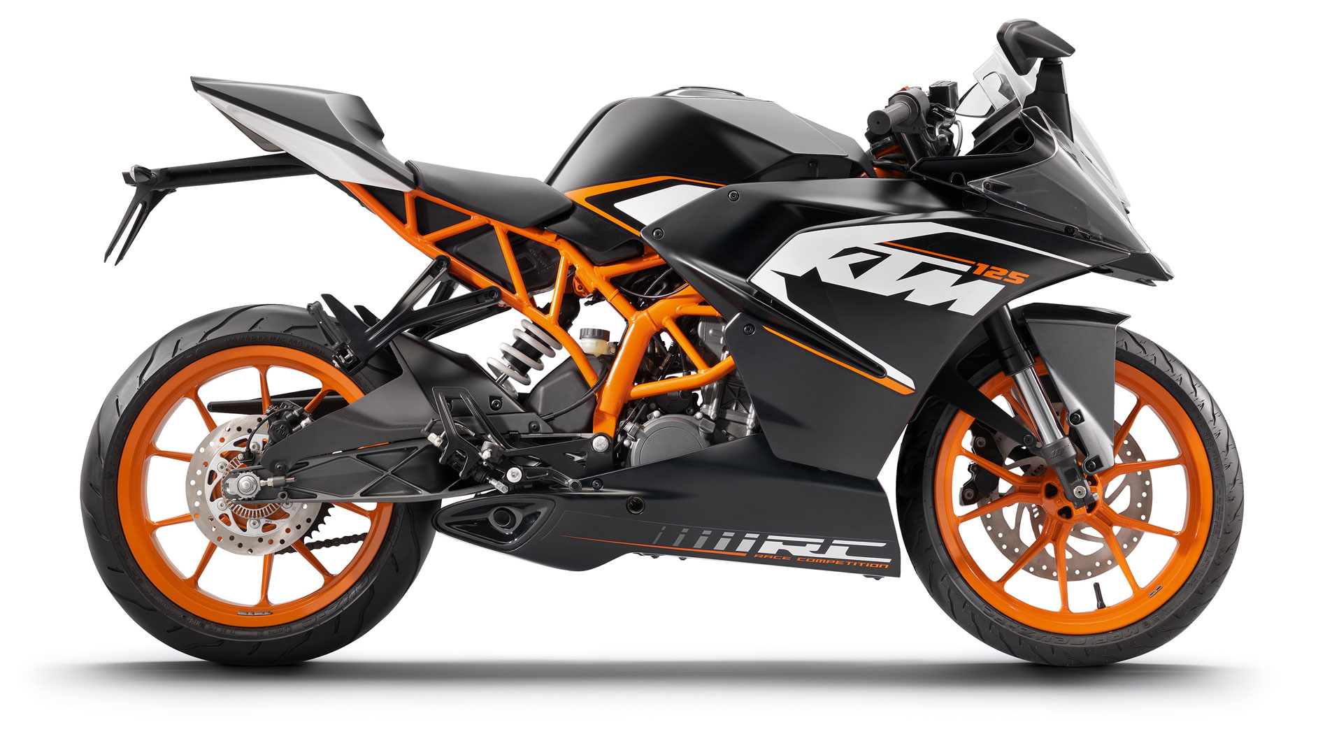 2015 ktm rc125 small displacement full racing nerve autoevolution. Black Bedroom Furniture Sets. Home Design Ideas