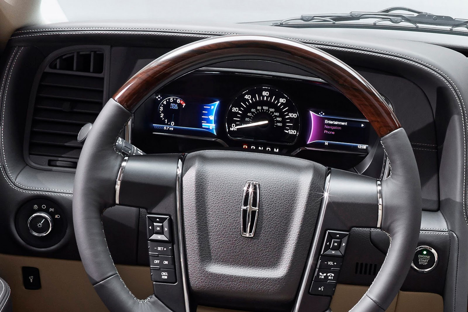 2015 Lincoln Navigator Official Unveiled Autoevolution