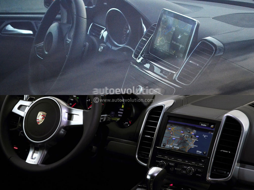 Bentley Bentayga Interior >> 2015 M-Class W166 Facelift Interior Borrows Some Porsche Cues - autoevolution