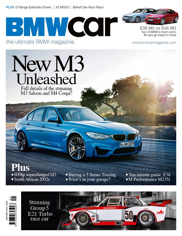 2015 M3 Featured On The Cover Of Bmw Car Magazine