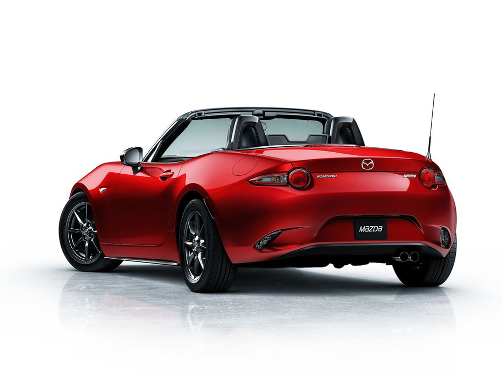 2015 mazda miata mx 5 coming with new bioplastic materials autoevolution. Black Bedroom Furniture Sets. Home Design Ideas