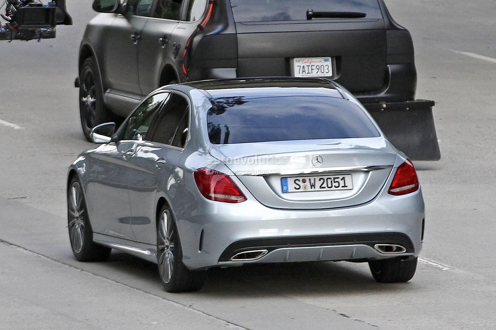 2015 Mercedes Benz C 180 W205 Versus 2014 C 180 W204